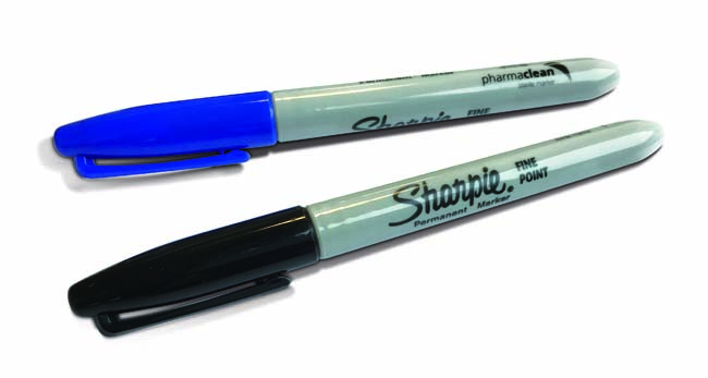 Pharmaclean® Black Sterile Marker in VHP Bag