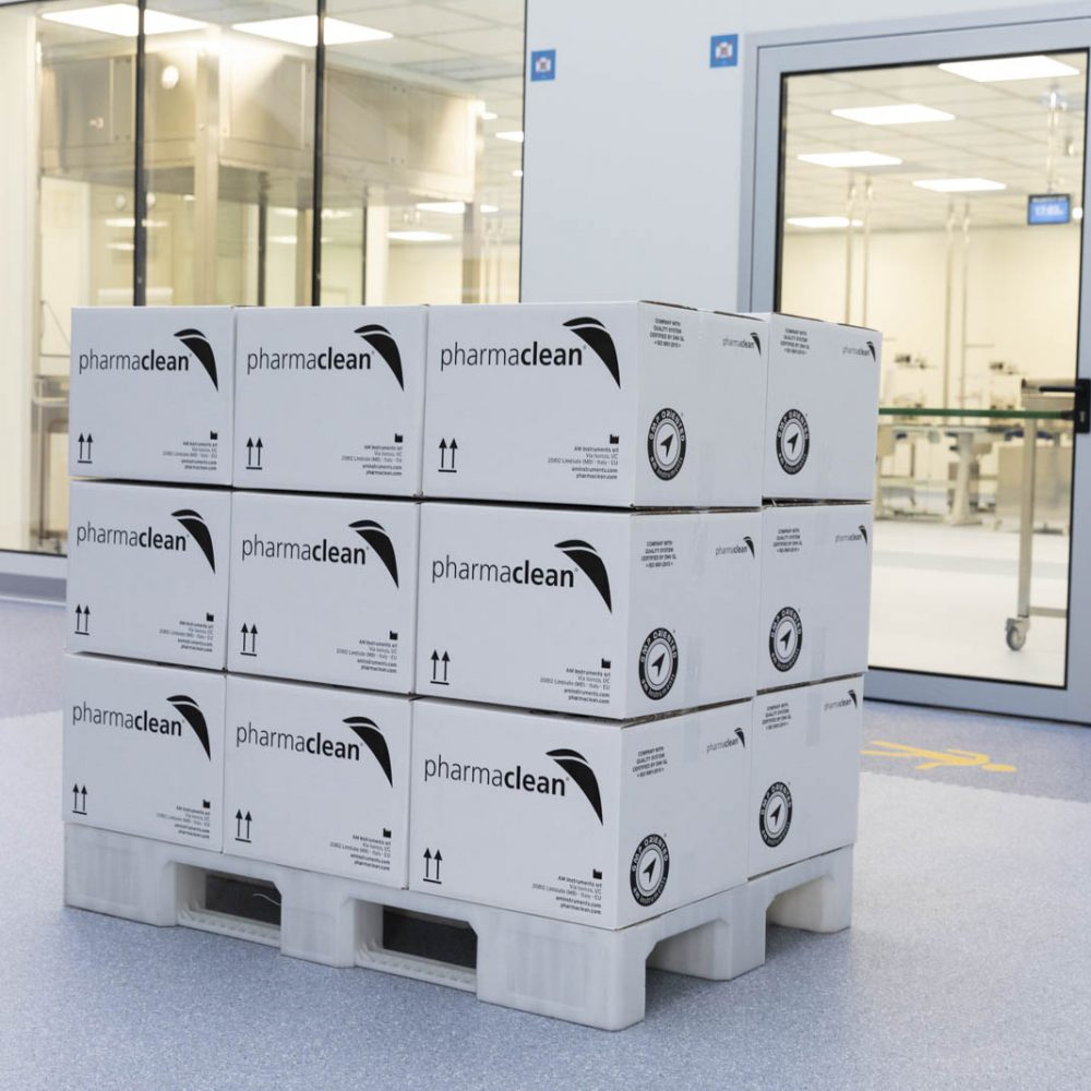 Pharmaclean Cleanroom and Boxes